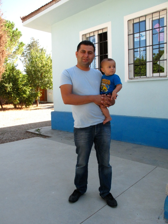'Old boy' Cem with a potential student (in a few years time)