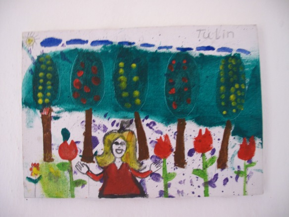An example of the children's creative work