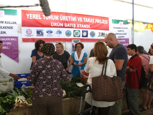 Fethiye's heritage seed exchange - swopping is now the only way